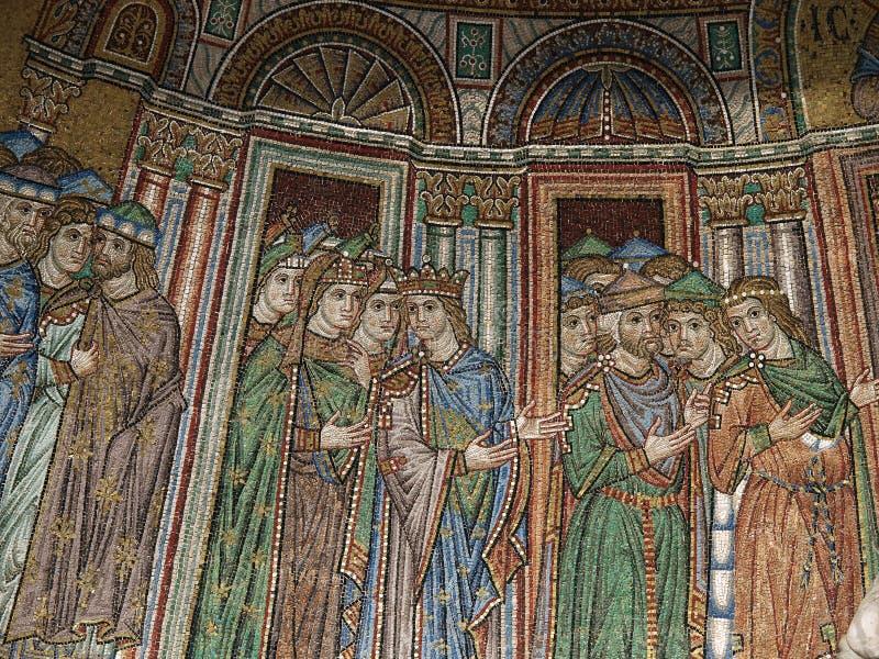 σημάδι s ST Βενετία βασιλικώ&nu στοκ φωτογραφίες με δικαίωμα ελεύθερης χρήσης
