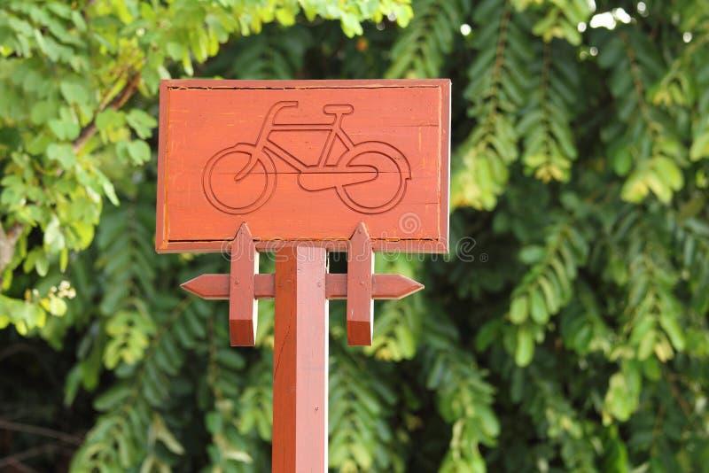 Σημάδια για το ποδήλατο στοκ φωτογραφία με δικαίωμα ελεύθερης χρήσης