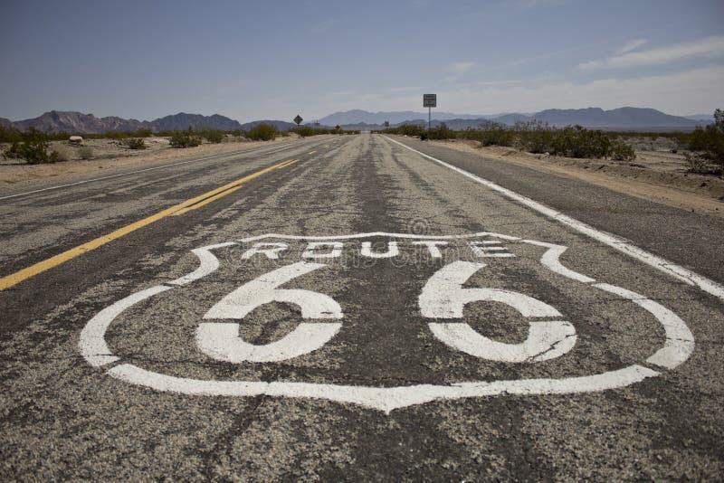 σημάδι 66 διαδρομών στοκ εικόνα με δικαίωμα ελεύθερης χρήσης