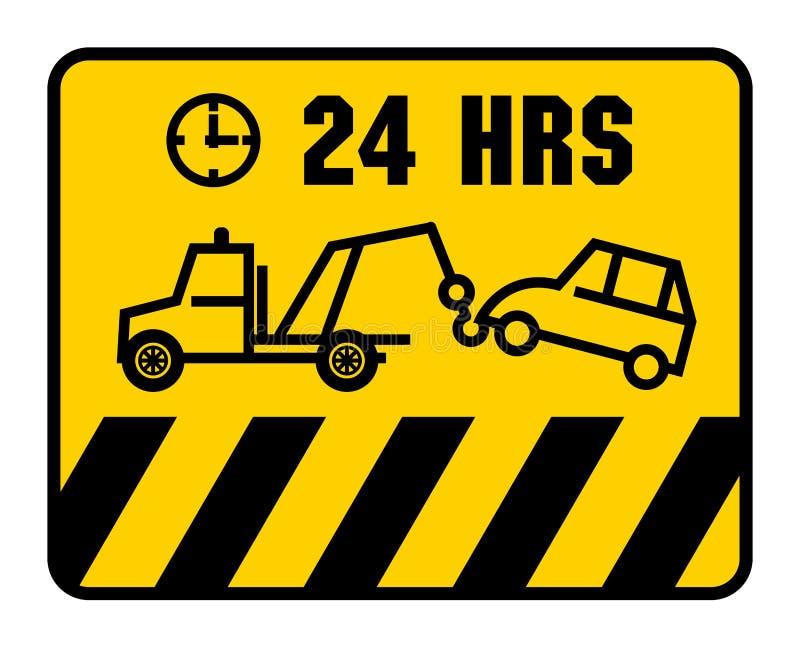 Σημάδι κυκλοφορίας - κανένας χώρος στάθμευσης απεικόνιση αποθεμάτων