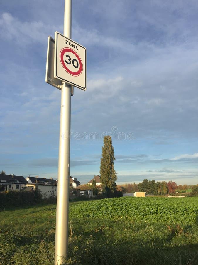 Σημάδι κυκλοφορίας Ολλανδία στοκ εικόνα με δικαίωμα ελεύθερης χρήσης