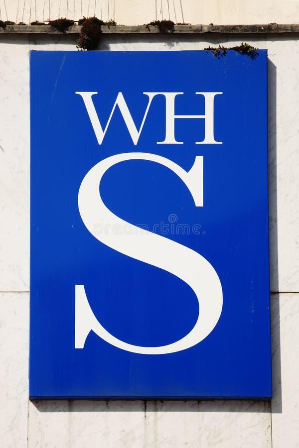 Σημάδι λογότυπων W Χ Smiths στοκ εικόνες