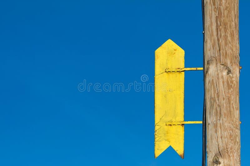 Σημάδι που δείχνει επάνω στοκ εικόνα με δικαίωμα ελεύθερης χρήσης