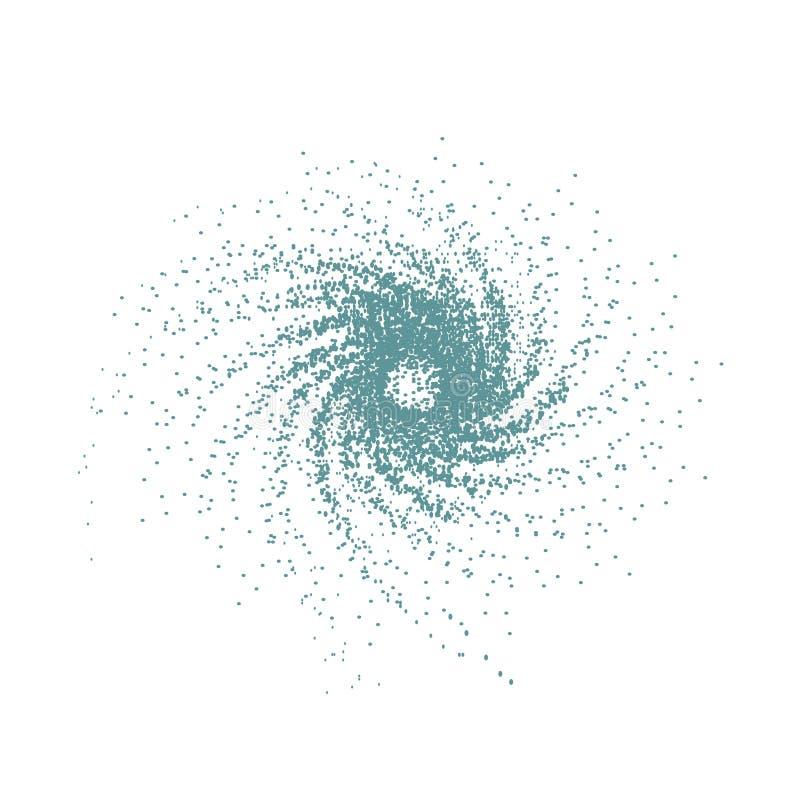 Σημάδι της δίνης ή του ανεμοστροβίλου, στρόβιλος διανυσματική απεικόνιση