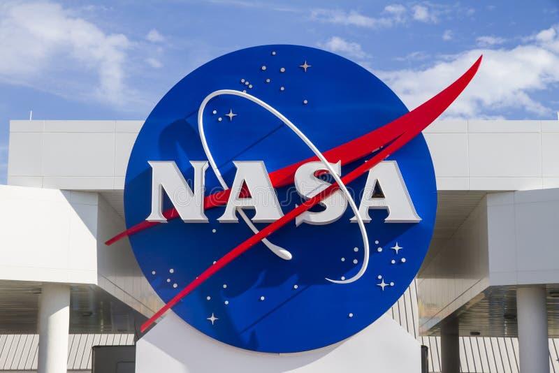 Σημάδι της NASA στοκ εικόνες με δικαίωμα ελεύθερης χρήσης