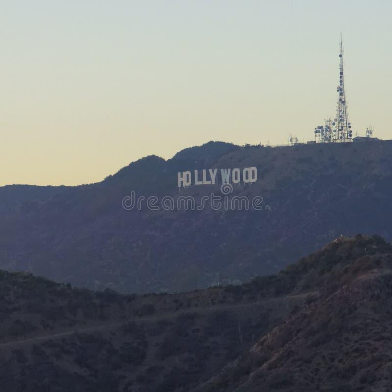 Σημάδι Hollywood στοκ εικόνα με δικαίωμα ελεύθερης χρήσης