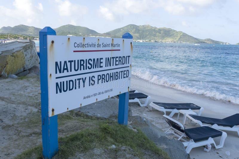 Σημάδι Nudiest στοκ φωτογραφία με δικαίωμα ελεύθερης χρήσης