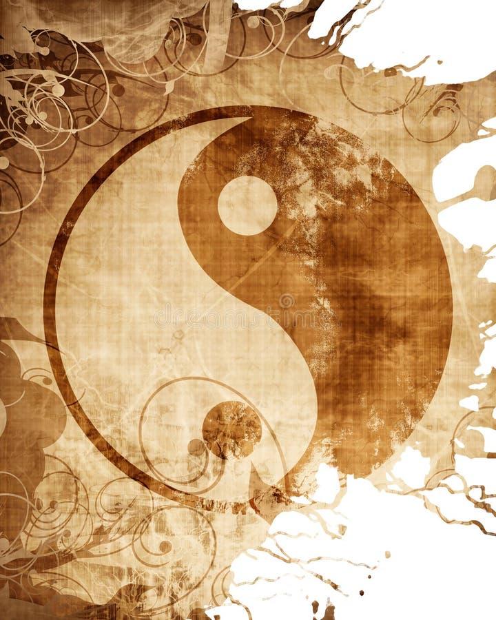 σημάδι yang yin ελεύθερη απεικόνιση δικαιώματος