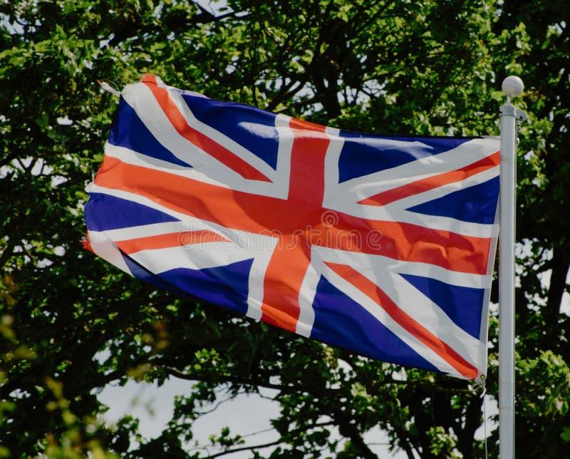 Σημαία ένωσης του Ηνωμένου Βασιλείου στοκ φωτογραφία