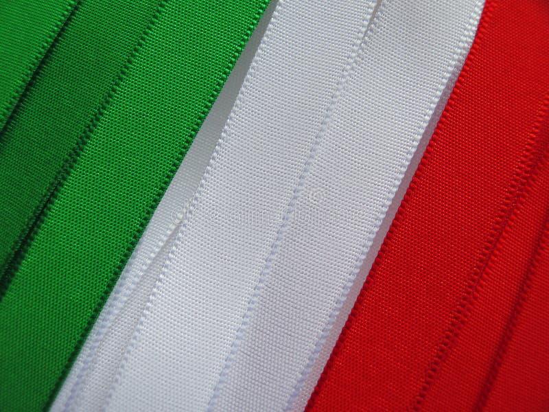 Σημαία ή έμβλημα της Ιταλίας στοκ εικόνα