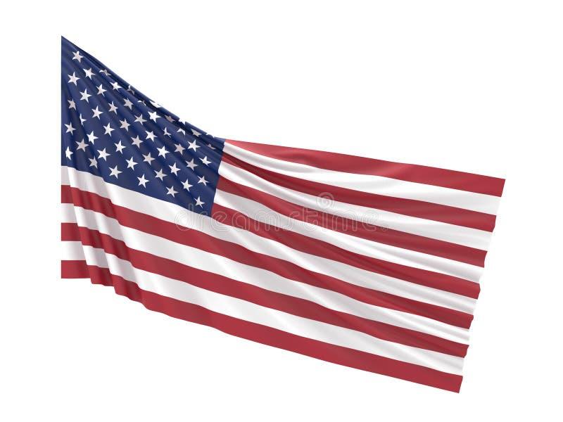 Σημαία Αμερική στοκ φωτογραφίες