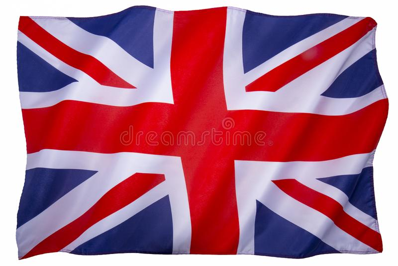 Σημαία Βασίλειο μεγάλου Briain στοκ φωτογραφία με δικαίωμα ελεύθερης χρήσης
