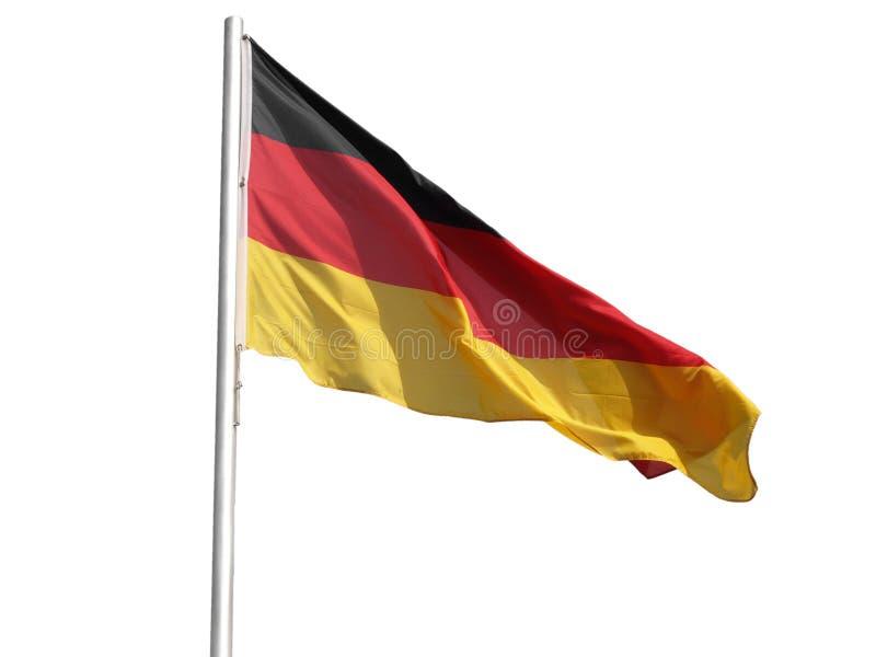 σημαία γερμανικά στοκ εικόνα