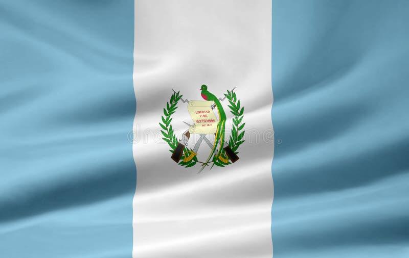 σημαία Γουατεμάλα ελεύθερη απεικόνιση δικαιώματος