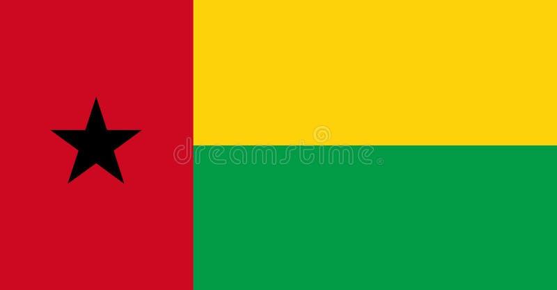 σημαία Γουινέα του Μπισσάου ελεύθερη απεικόνιση δικαιώματος