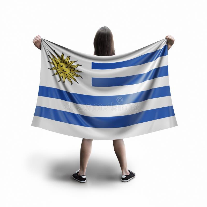 Σημαία γυναικών και Ουρουγουανών ελεύθερη απεικόνιση δικαιώματος