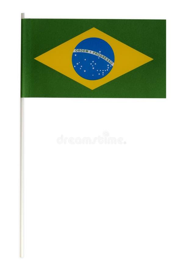 Σημαία εγγράφου της Βραζιλίας στοκ φωτογραφίες