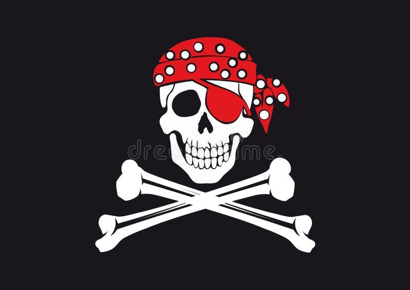 σημαία ευχάριστα Roger διανυσματική απεικόνιση
