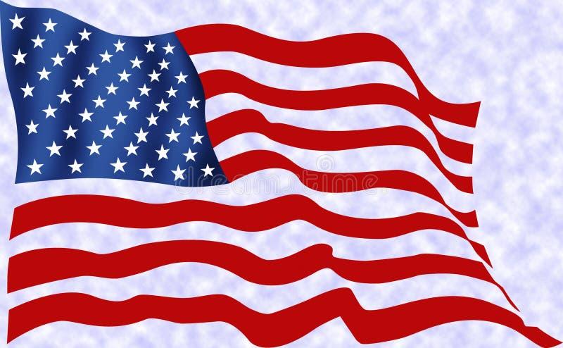 σημαία ΗΠΑ διανυσματική απεικόνιση
