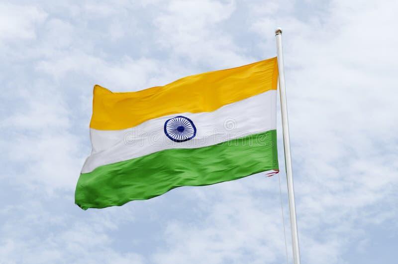 σημαία Ινδία στοκ εικόνες