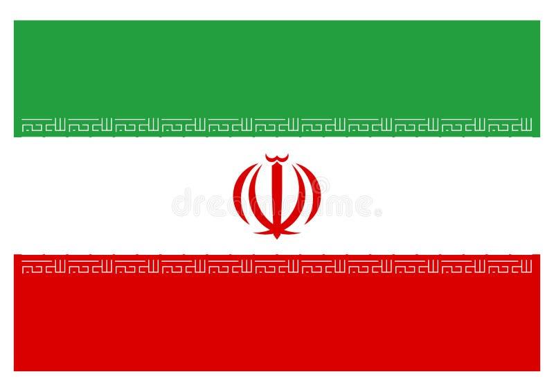 σημαία Ιράν απεικόνιση αποθεμάτων