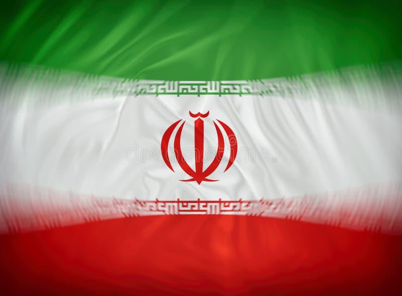 σημαία Ιράν ελεύθερη απεικόνιση δικαιώματος