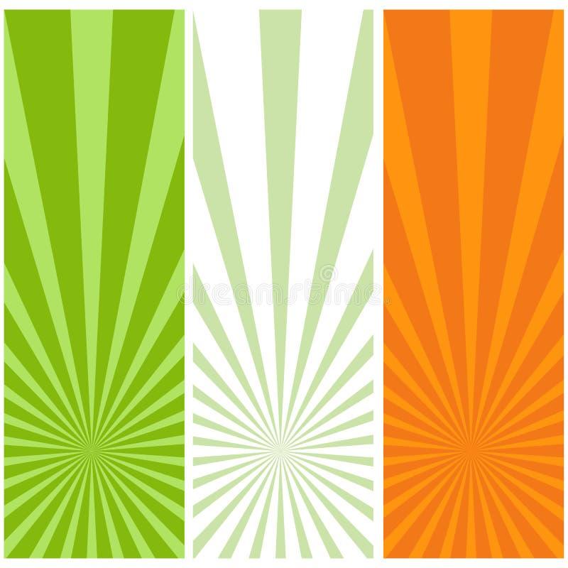 σημαία ιρλανδικά διανυσματική απεικόνιση