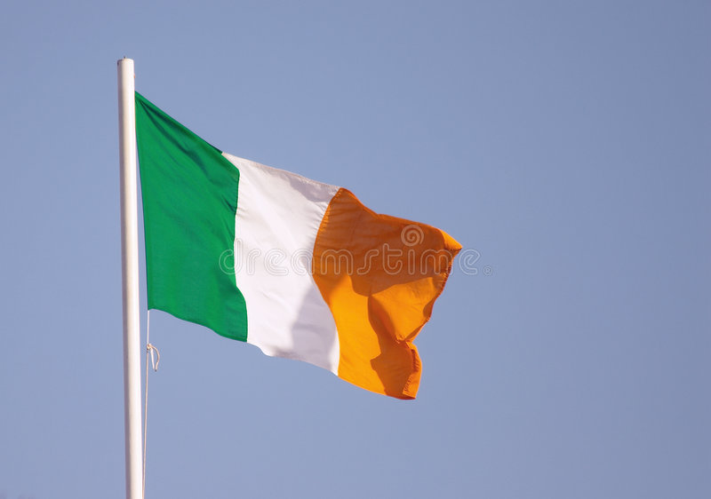 σημαία ιρλανδικά στοκ εικόνες