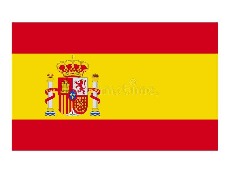 σημαία Ισπανία απεικόνιση αποθεμάτων
