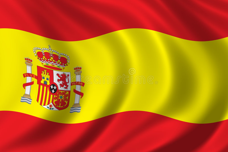 σημαία Ισπανία ελεύθερη απεικόνιση δικαιώματος