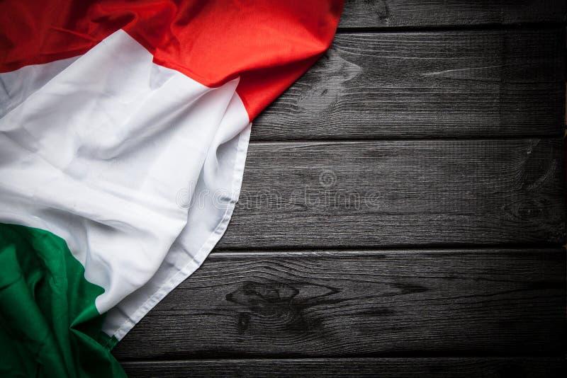 σημαία Ιταλία στοκ εικόνες με δικαίωμα ελεύθερης χρήσης