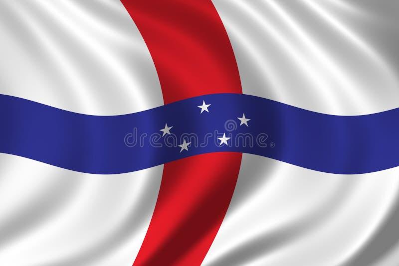 Download σημαία Κάτω Χώρες των Αντιλ& Απεικόνιση αποθεμάτων - εικονογραφία από ψαλίδισμα, έμβλημα: 388761