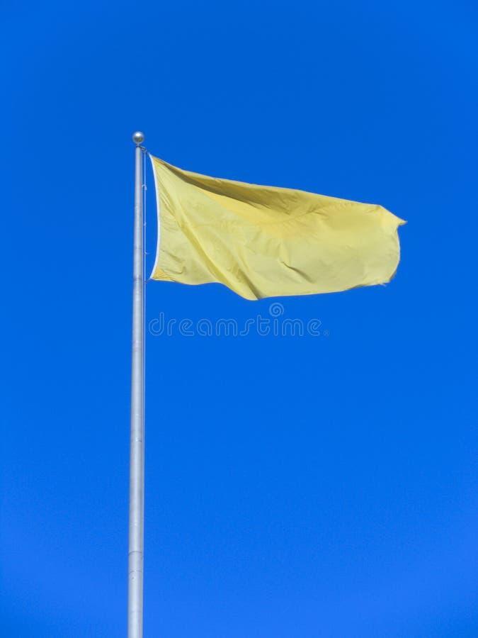 σημαία κίτρινη στοκ φωτογραφίες με δικαίωμα ελεύθερης χρήσης