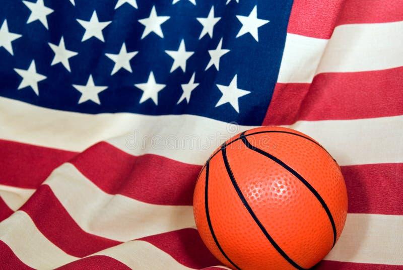 σημαία καλαθοσφαίρισης στοκ φωτογραφίες