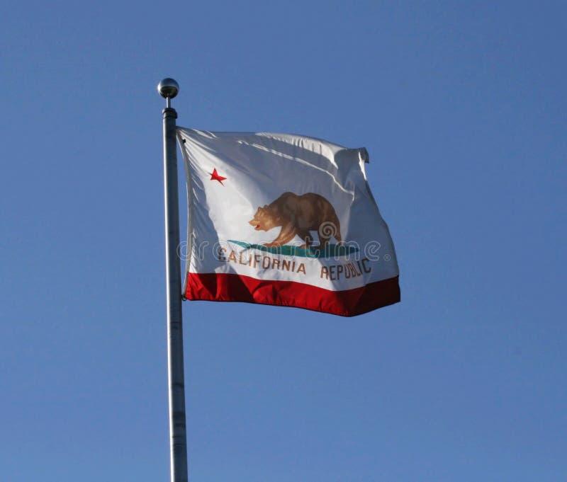 σημαία Καλιφόρνιας στοκ φωτογραφία με δικαίωμα ελεύθερης χρήσης