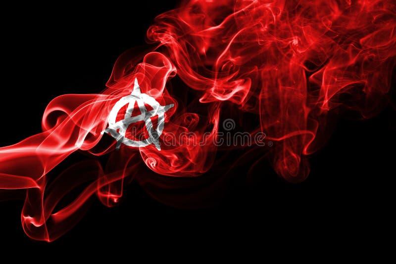 Σημαία καπνού αναρχίας στοκ φωτογραφία με δικαίωμα ελεύθερης χρήσης
