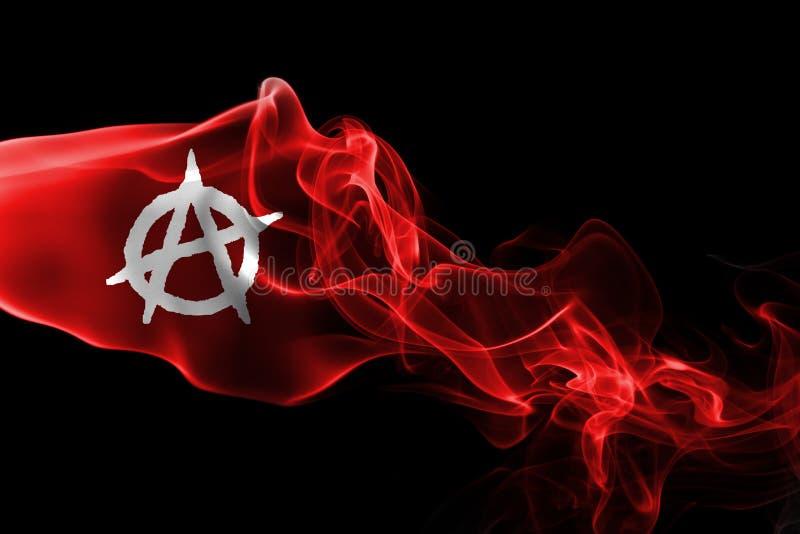 Σημαία καπνού αναρχίας στοκ φωτογραφίες με δικαίωμα ελεύθερης χρήσης