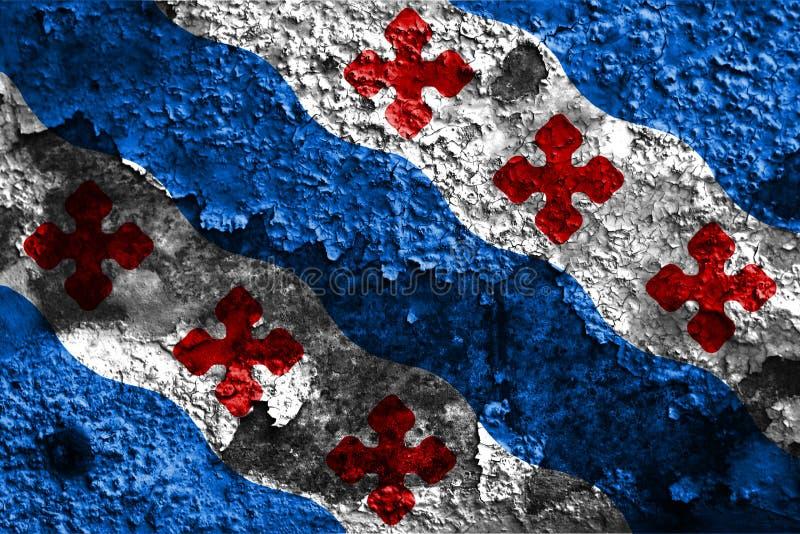 Σημαία καπνού πόλεων του Ρόκβιλ, κράτος της Μέρυλαντ, Πολιτεία Amer στοκ εικόνες με δικαίωμα ελεύθερης χρήσης