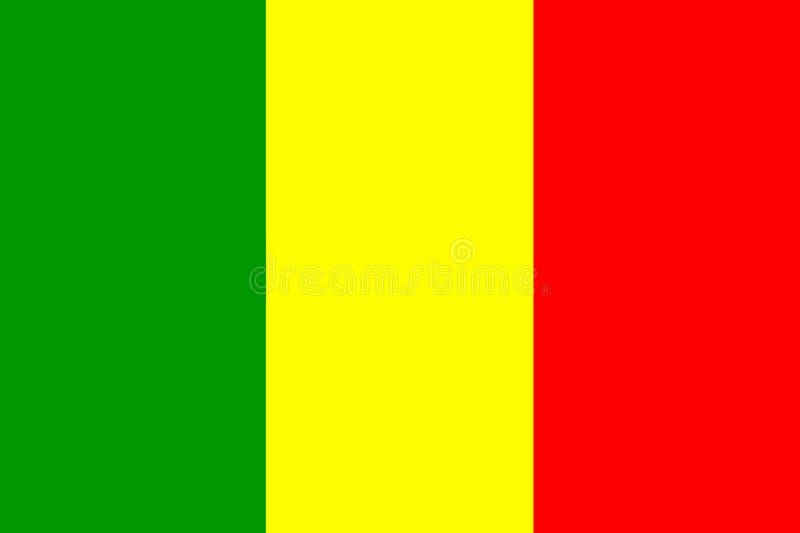 σημαία Μαλί ελεύθερη απεικόνιση δικαιώματος