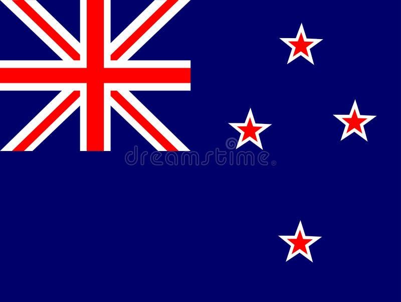 σημαία Νέα Ζηλανδία απεικόνιση αποθεμάτων