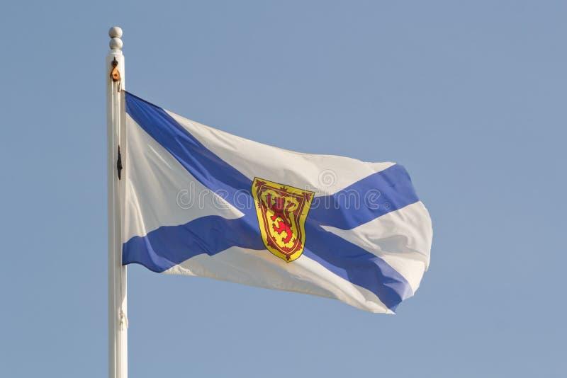 σημαία Νέα Σκοτία στοκ εικόνα με δικαίωμα ελεύθερης χρήσης