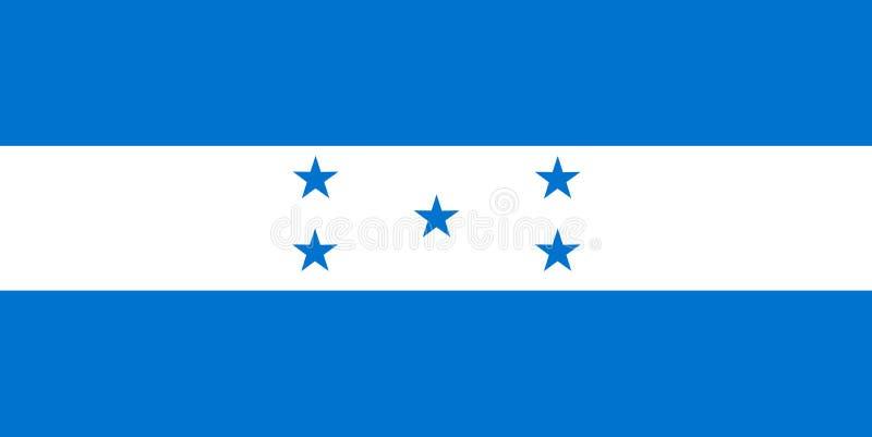 σημαία Ονδούρα εθνική Υπόβαθρο με τη σημαία της Ονδούρας απεικόνιση αποθεμάτων