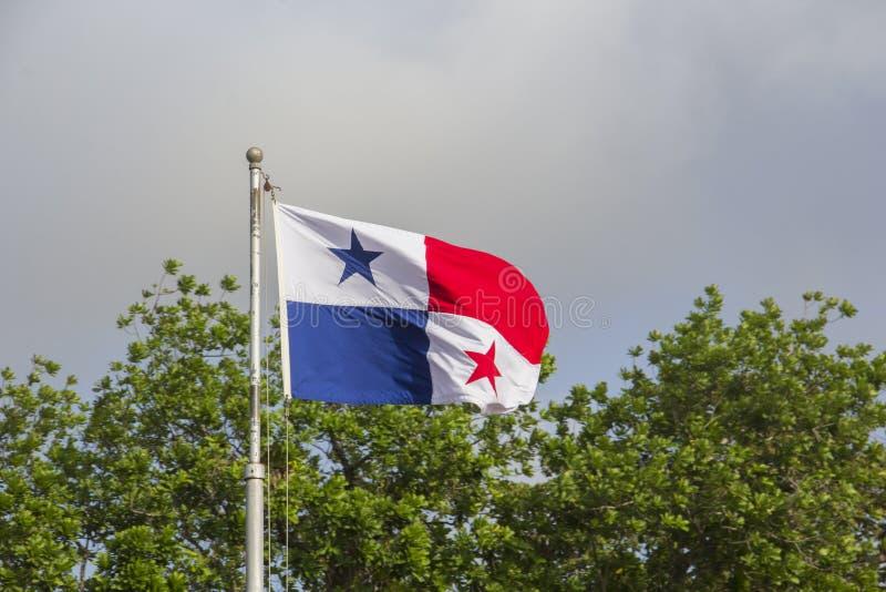 σημαία Παναμάς στοκ φωτογραφία με δικαίωμα ελεύθερης χρήσης