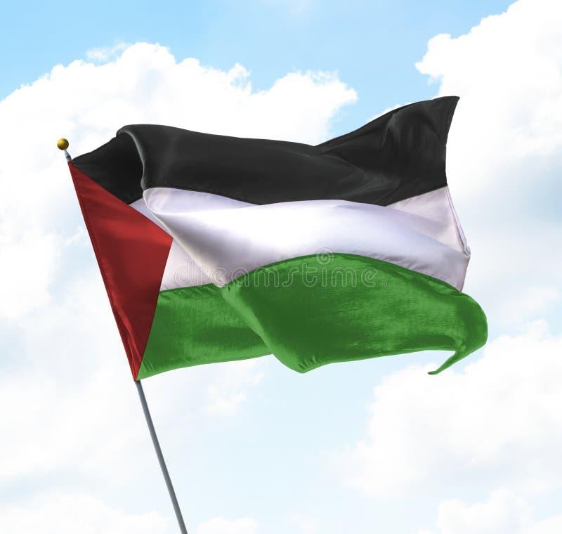 σημαία Παλαιστίνη στοκ φωτογραφία