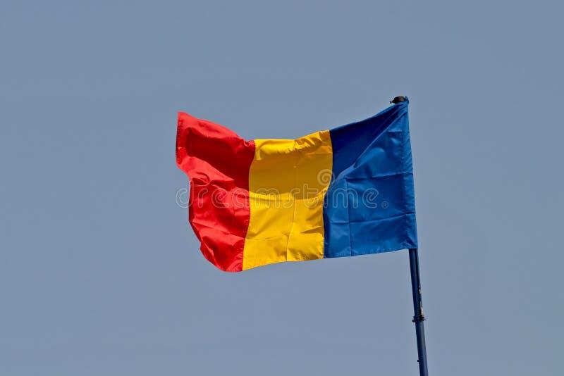 σημαία Ρουμανία Στοκ Φωτογραφία