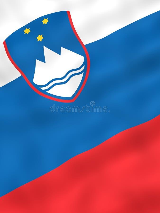 σημαία Σλοβενία διανυσματική απεικόνιση