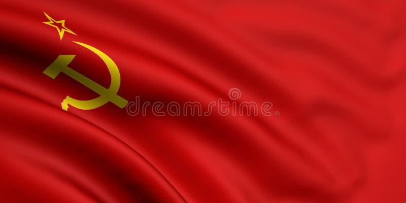 σημαία Σοβιετική Ένωση απεικόνιση αποθεμάτων