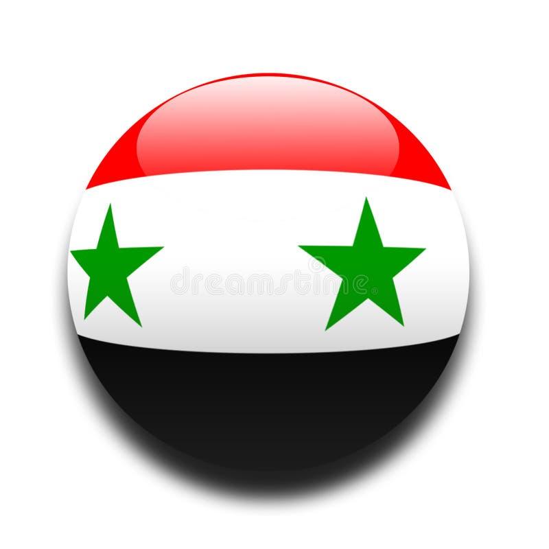 σημαία Σύριος Στοκ Φωτογραφία