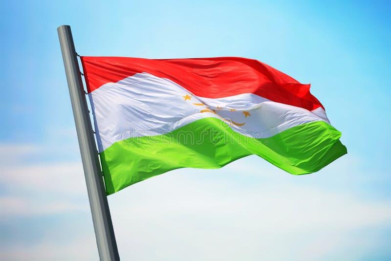 σημαία Τατζικιστάν στοκ φωτογραφίες