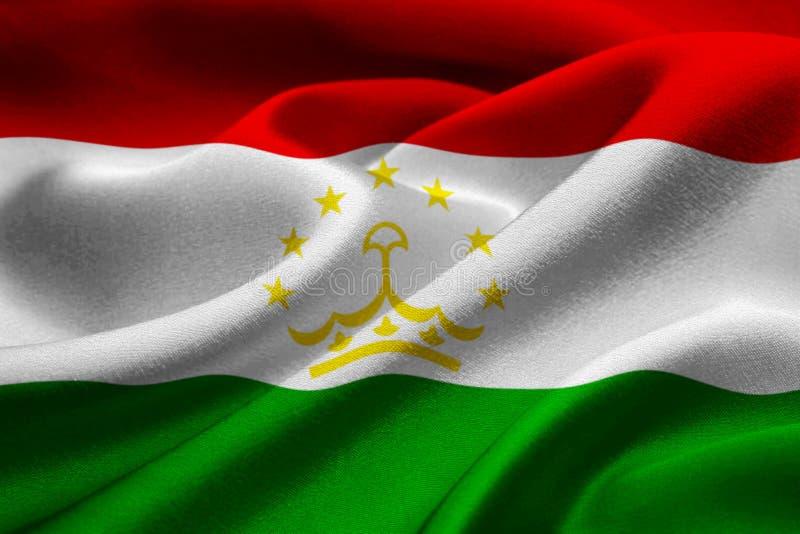 σημαία Τατζικιστάν στοκ φωτογραφία με δικαίωμα ελεύθερης χρήσης